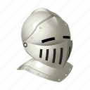 armor, helmet, knight, medieval, weapons