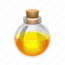 fire, flask, magic, potion, spell, sphere, witch