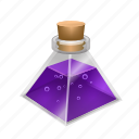flask, magic, mana, potion, spell, triangle, witch