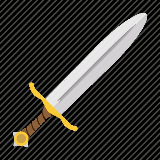 battle, cartoon, medieval, military, steel, sword, weapon icon