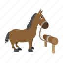 armor, beautiful, border, cartoon, character, horse, medieval icon