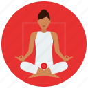 chakra, meditation, root