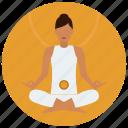 chakra, meditation, sacral icon