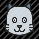 animal, cat, kitten, mammals, pet icon