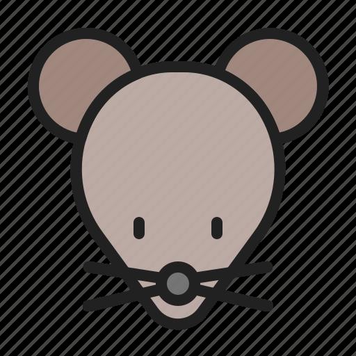 animal, mammals, mice, mouse, rat icon