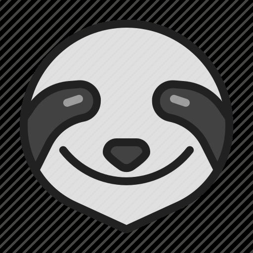 animal, mammals, sloth, slow, zoo icon