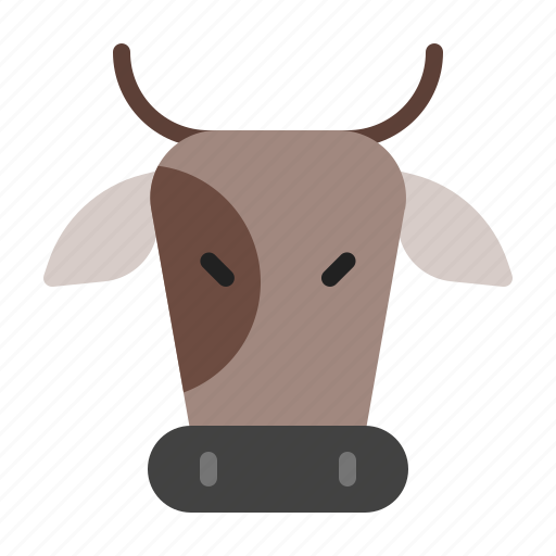 animal, bulls, cow, farm, mammals icon