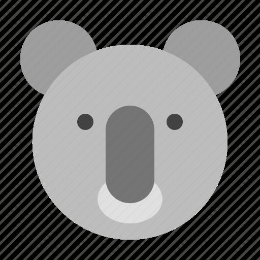 animals, cute, koala, mammals, zoo icon