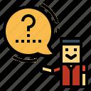 conversation, people, speech, talk icon