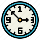 clock, time, tool, watch icon