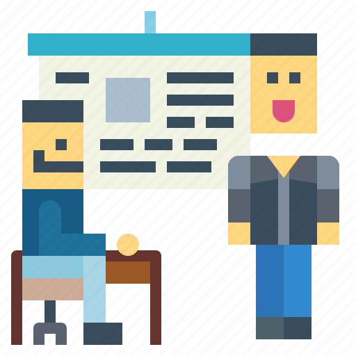 Conference, education, people, presentation icon - Download on Iconfinder
