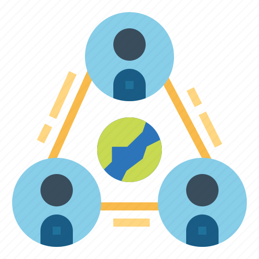 Collaboration, group, network, team icon - Download on Iconfinder