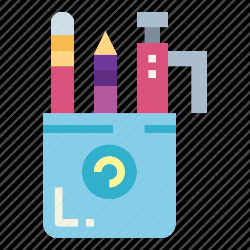 draw, pencil, tools, writing icon