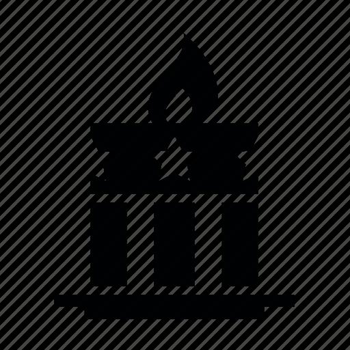 day3, memorial, америка, вечный огонь, памятник, свеча icon
