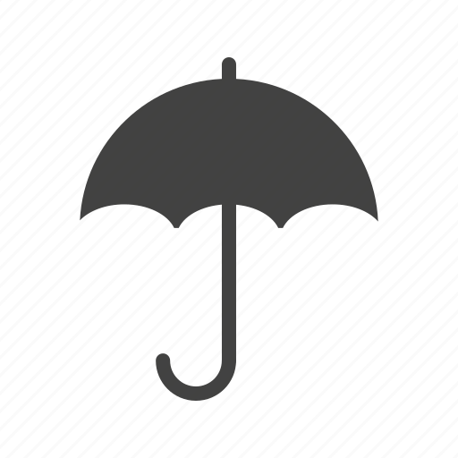 autumn, drops, happy, rain, umbrella, water, weather icon
