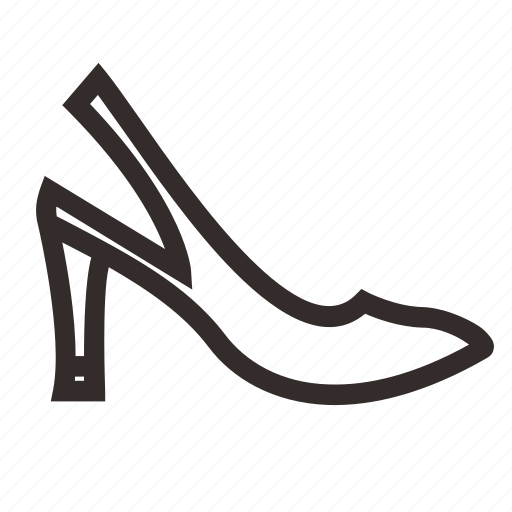 boots, heel, sandals, shoes icon