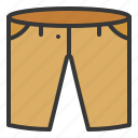 clothes, clothing, fashion, male, men, shorts icon
