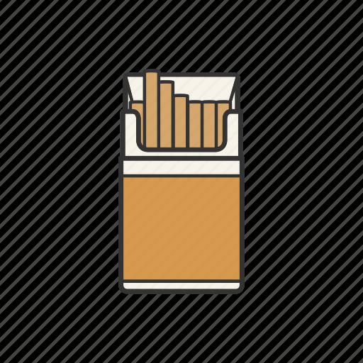 cigarettes, ciggy, nicotine, pack, smoke, smoking, tobacco icon