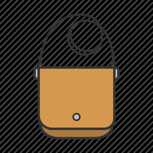 accessory, backpack, hand bag, haversack, knapsack, laptop bag, packsack icon