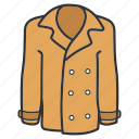 blazer, cardigan, clothing, coat, jacket, outerwear, wear icon