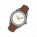 apparel, clock, timer, watch, wrist watch, wristwatch icon