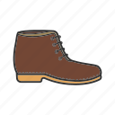 boot, footgear, footwear, low shoe, shoes, wear icon