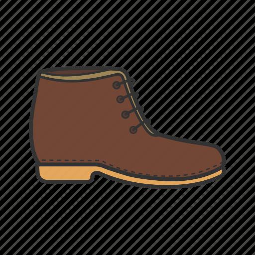 boot, footgear, footwear, low shoe, shoes, wear icon