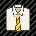 classic, clothing, dress code, necktie, shirt, tie, wear