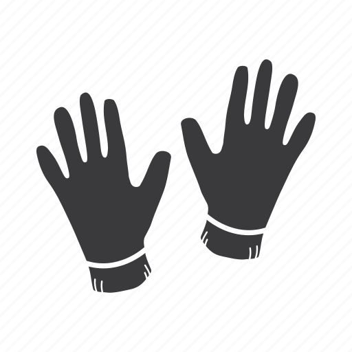accessory, clothes, gloves, leather gloves, protection, wear icon