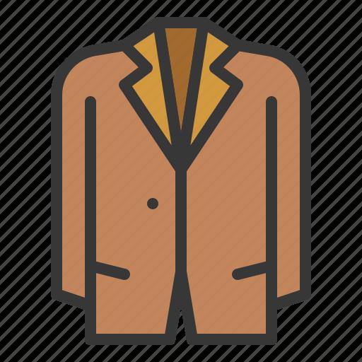 clothes, clothing, fashion, male, men, suit icon