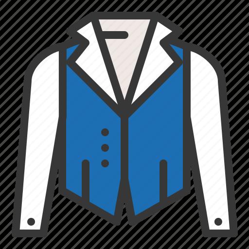 clothes, clothing, fashion, male, men, shirt, vest icon