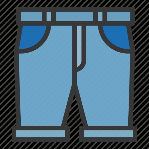 clothes, clothing, fashion, male, men, shorts icon