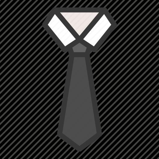 clothes, clothing, fashion, male, men, necktie icon