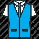 shirts, colour, men's clothing icon