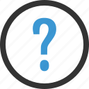 ask, mark, navigation, question icon