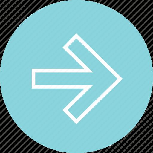 arrow, navigaiton, next icon