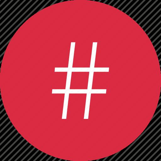 hashtag, nav, navigation, ui icon