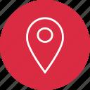locate, nav, navigation, ui icon
