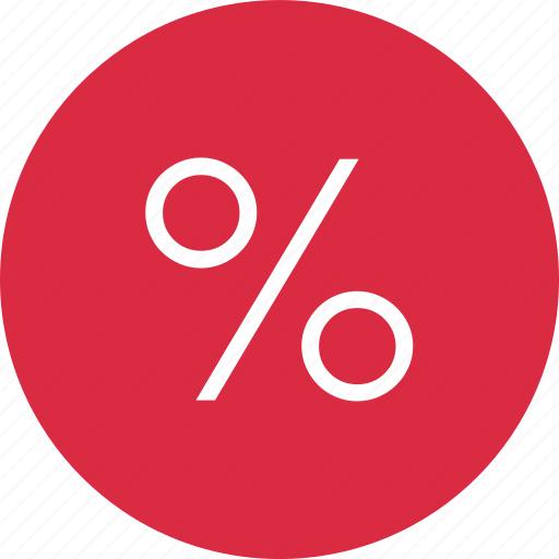 nav, percent, percentage icon