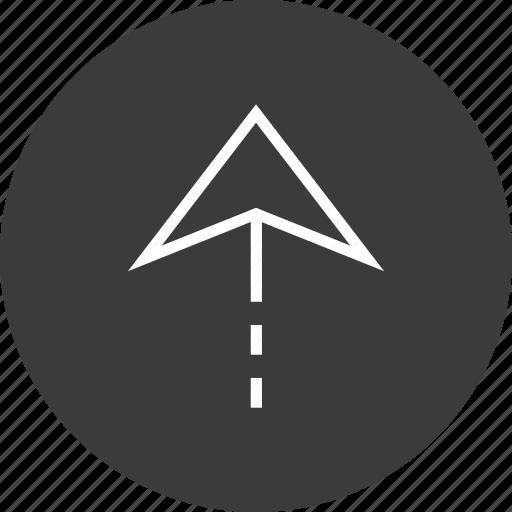 nav, navigation, up, upload icon