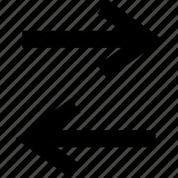 activity, arrow, internet icon