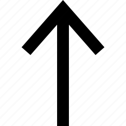 arrow, point, pointer, upload icon