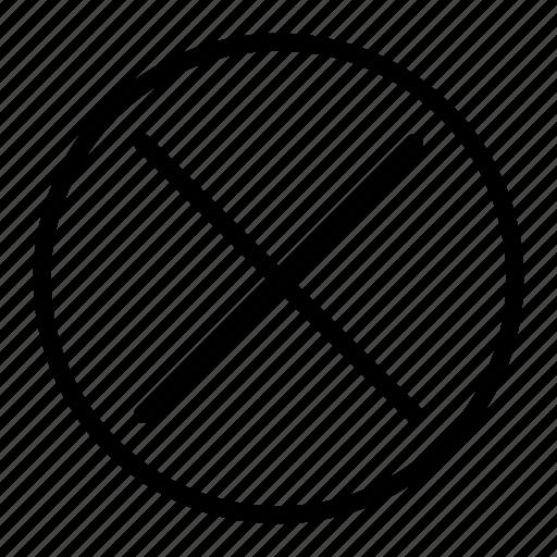 cancel, close, delete, menu, remove icon