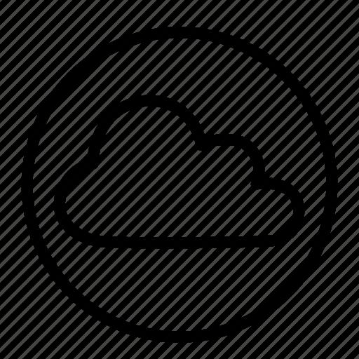 cloud, database, network, storage icon