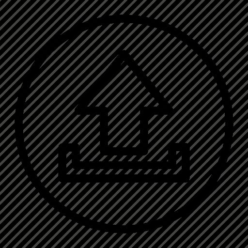 data, storage, up, upload icon