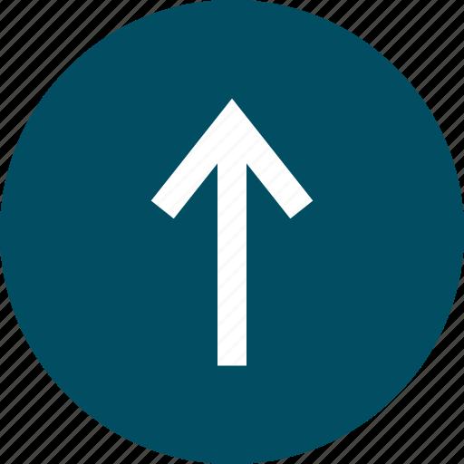 arrow, nav, up, upload icon