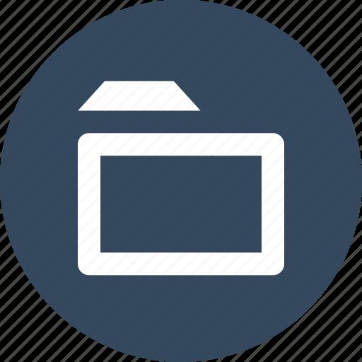 archive, folder, nav, navigate, navigation, save, ui icon