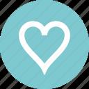 favorite, heat, online, web icon