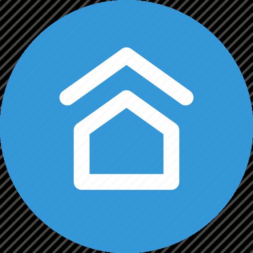 back, home, house, nav, navigate, navigation, ui icon