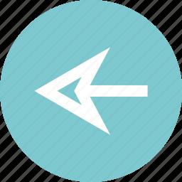 arrow, back, backward, nav icon